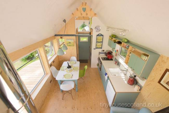 tiny house interior